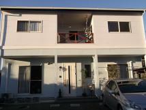 施工事例:スレート屋根 窯業系サイディングフッ素無機遮熱塗装