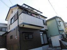 施工事例:セメント瓦・窯業系サイディングシリコン塗装