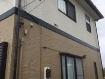 施工事例:窯業系サイディング フッ素無機遮熱塗装