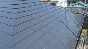 施工事例:フッ素無機遮熱 屋根塗装