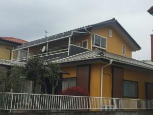 施工事例:パーフェクトトップ外壁塗装