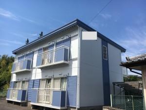 施工事例:渋川市 アパート外壁塗装