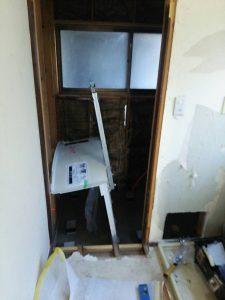 貸家 浴室・内装工事