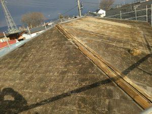 屋根工事(ガルバリウム鋼板カバー工法)