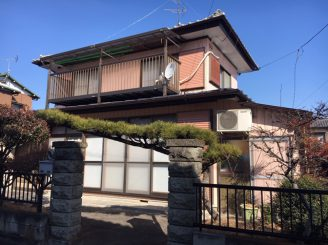 渋川市 金属サイディング外壁塗装