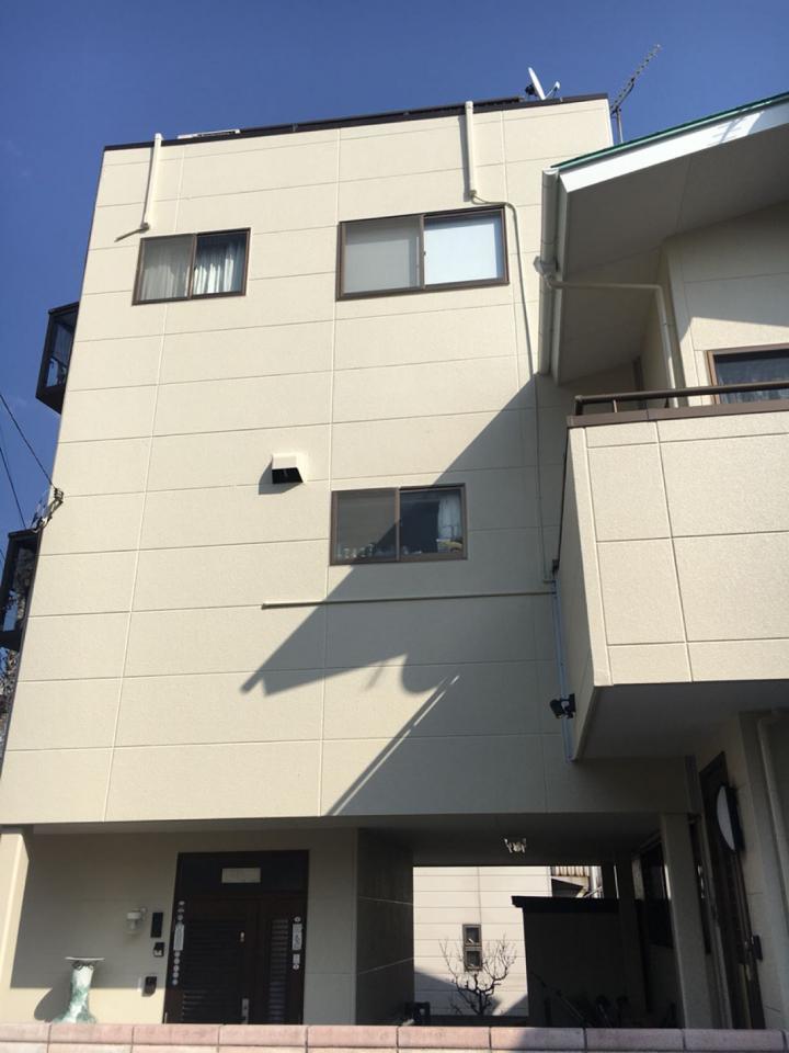 渋川市金井 ALC外壁塗装