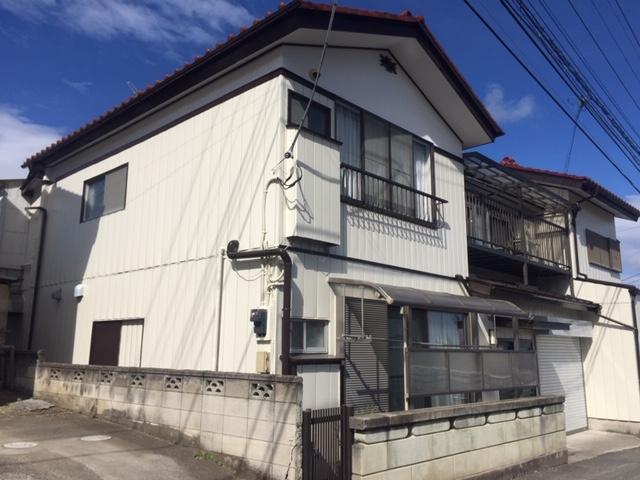 渋川市渋川 金属サイディング外壁塗装