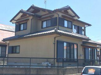 渋川市中郷 サイディング塗装