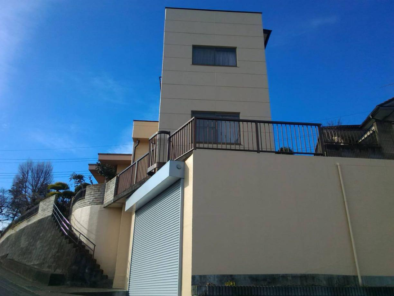 渋川市中郷 ALC外壁塗装