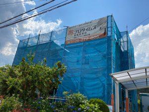 渋川市北橘町 外壁塗装