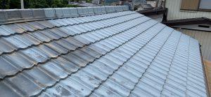 渋川市 金属屋根塗装