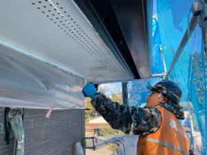 渋川市にて住宅塗装工事
