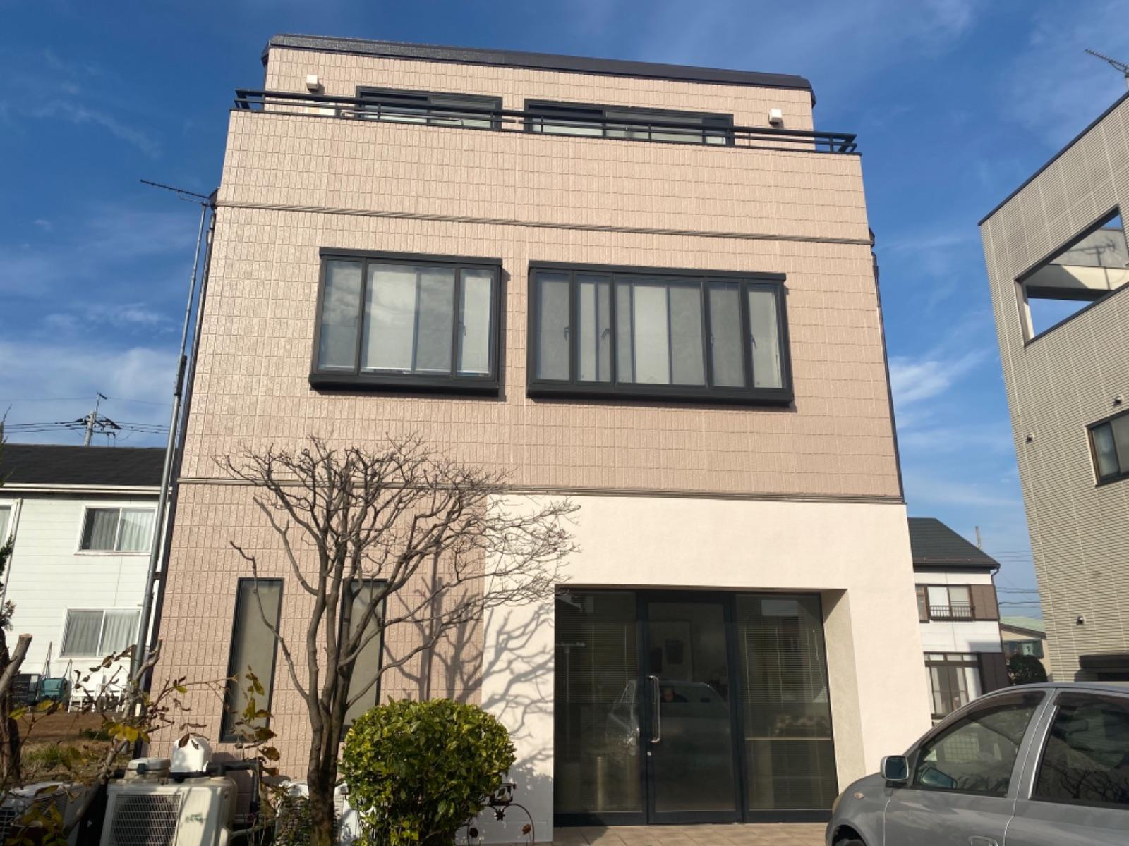 渋川市渋川 窯業系サイディング塗装